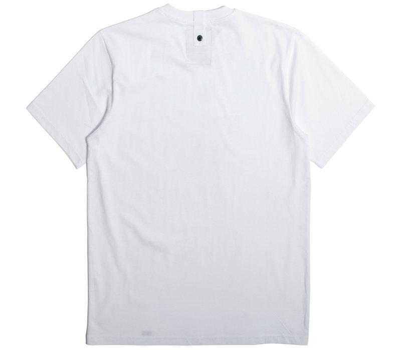 Peaceful Hooligan Outnumbered t-shirt White