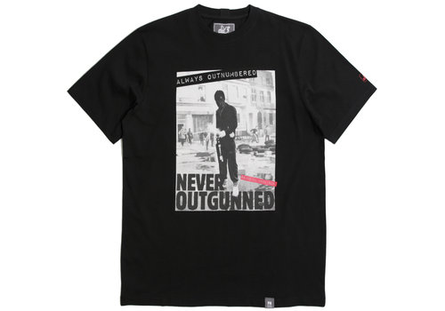 Peaceful Hooligan Peaceful Hooligan Outnumbered t-shirt Black