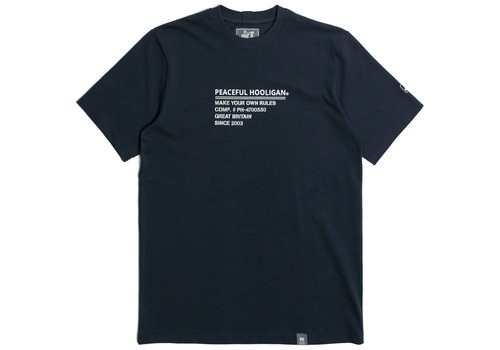 Peaceful Hooligan Peaceful Hooligan ID t-shirt Navy