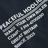 Peaceful Hooligan ID t-shirt Navy