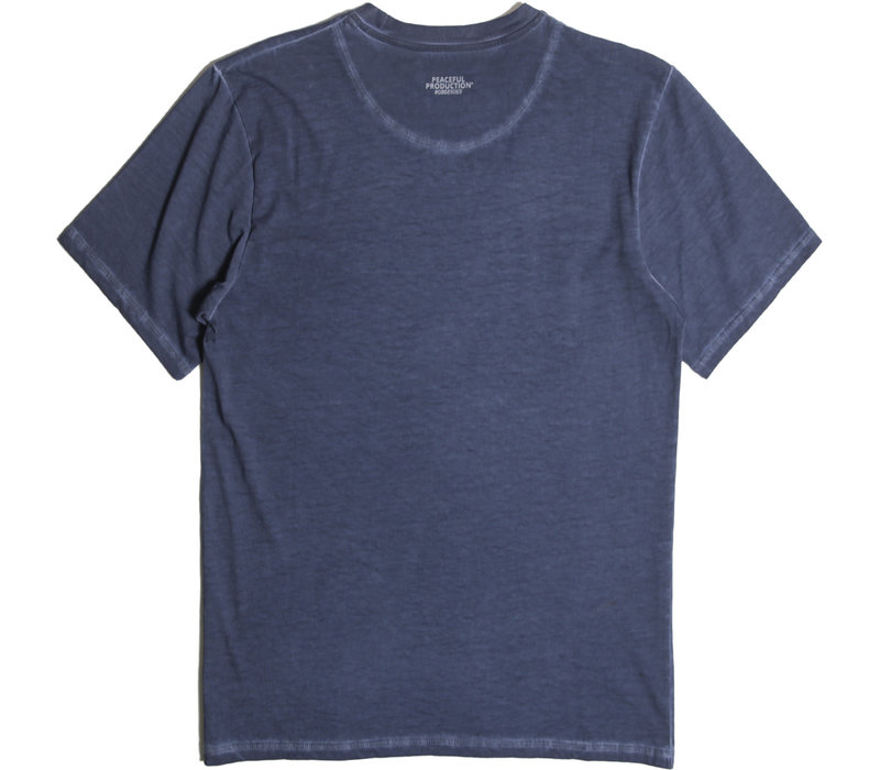 Peaceful Production Insignia t-shirt Blue