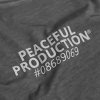 Peaceful Production Insignia t-shirt Black