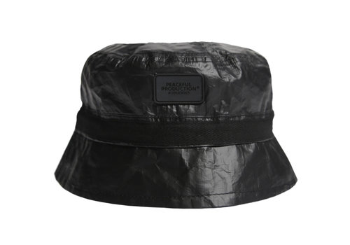 Peaceful Production Peaceful Production Infantry heat reactive bucket hat Black