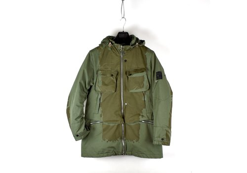 Stone Island Stone Island shadow project green laser engraved david-tc parka L