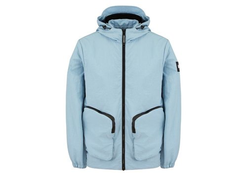 Weekend Offender Weekend Offender Carbone hooded jacket Lake Blue