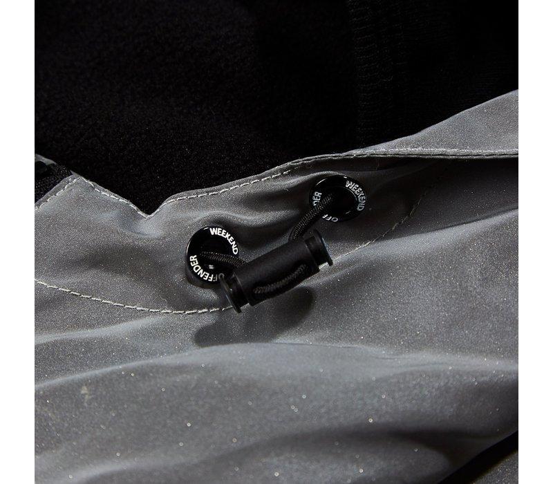 Weekend Offender Salcedo hooded jacket Reflective