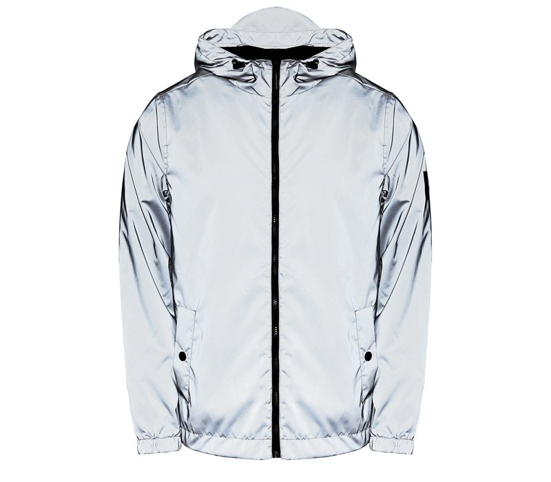Weekend Offender Salcedo hooded jacket Reflective