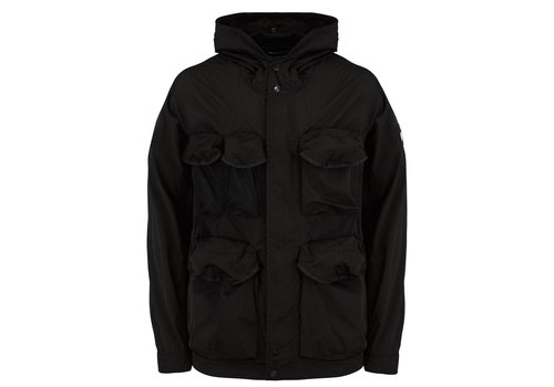 Weekend Offender Weekend Offender Devito hooded field jacket Black