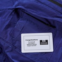 Weekend Offender Devito hooded field jacket Electric Blue