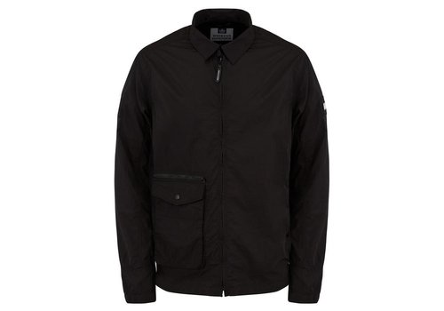 Weekend Offender Weekend Offender Vinnie overshirt jacket Black