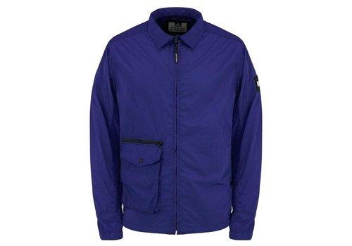 Weekend Offender Weekend Offender Vinnie overshirt jacket Electric Blue