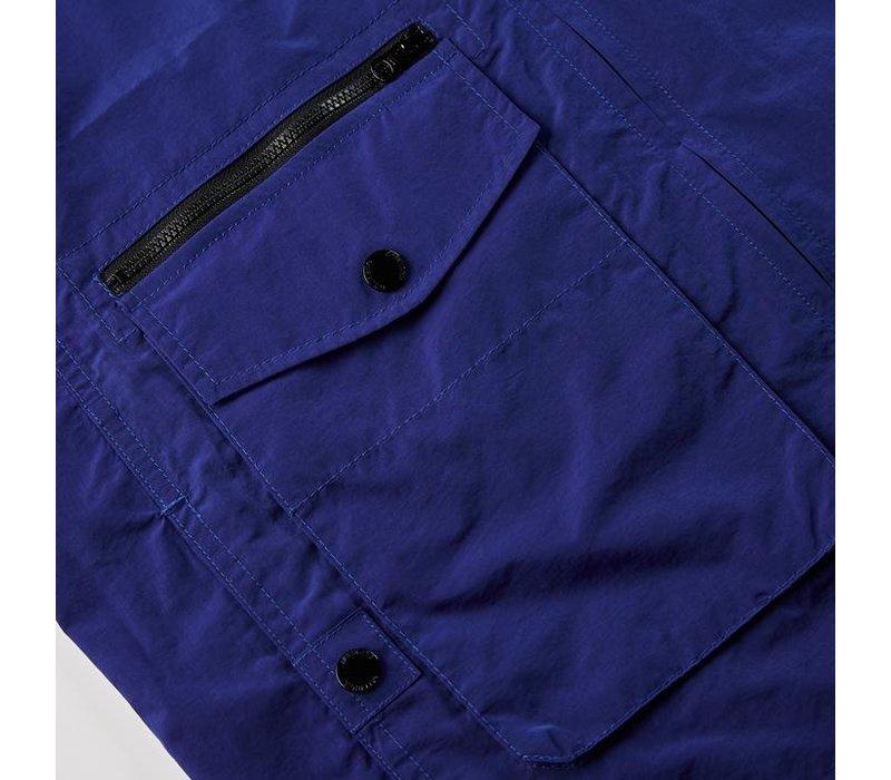 Weekend Offender Vinnie overshirt jacket Electric Blue