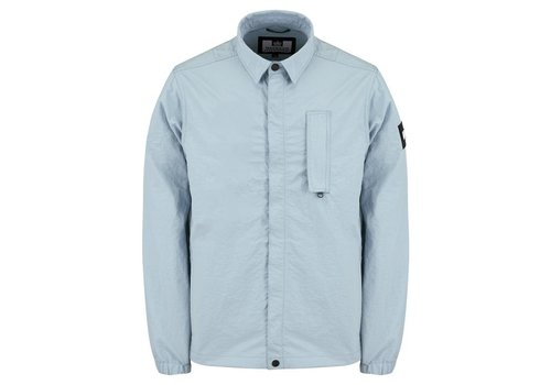 Weekend Offender Weekend Offender Sorvino overshirt jacket Lake Blue