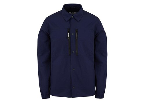 Weekend Offender Weekend Offender Nicky Eyes overshirt jacket French Navy