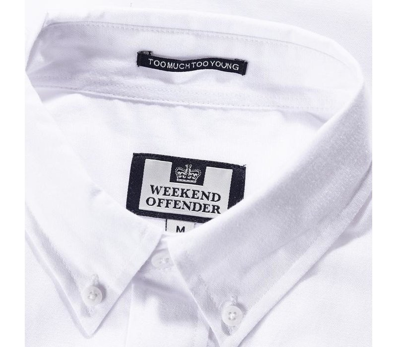 Weekend Offender Gomorra short sleeve shirt White
