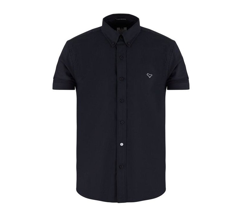 Weekend Offender Gomorra short sleeve shirt Navy