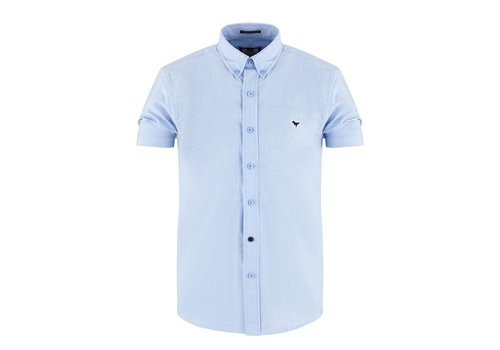Weekend Offender Weekend Offender Gomorra short sleeve shirt Pale Blue