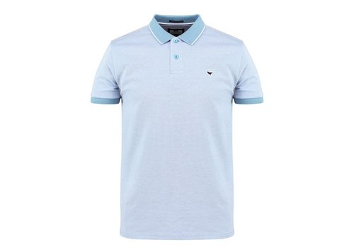 Weekend Offender Weekend Offender Sonny polo Lake Blue/White