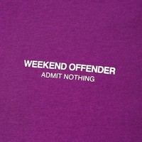 Weekend Offender WO Tee t-shirt Tulip
