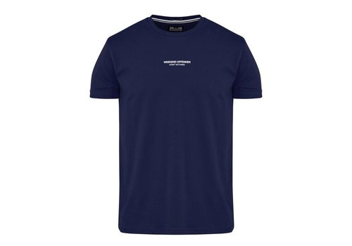 Weekend Offender Weekend Offender WO Tee t-shirt French Navy