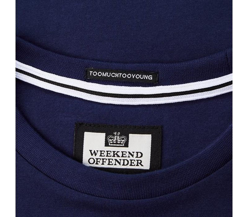 Weekend Offender WO Tee t-shirt French Navy