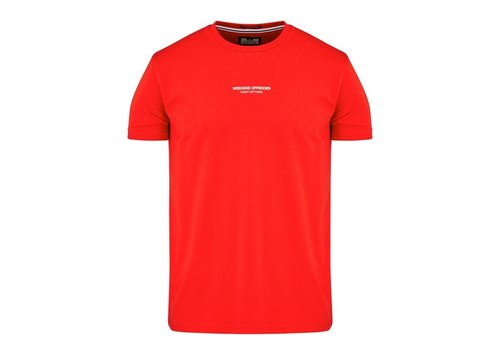 Weekend Offender Weekend Offender WO Tee t-shirt Flame Red