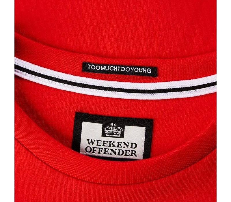 Weekend Offender WO Tee t-shirt Flame Red