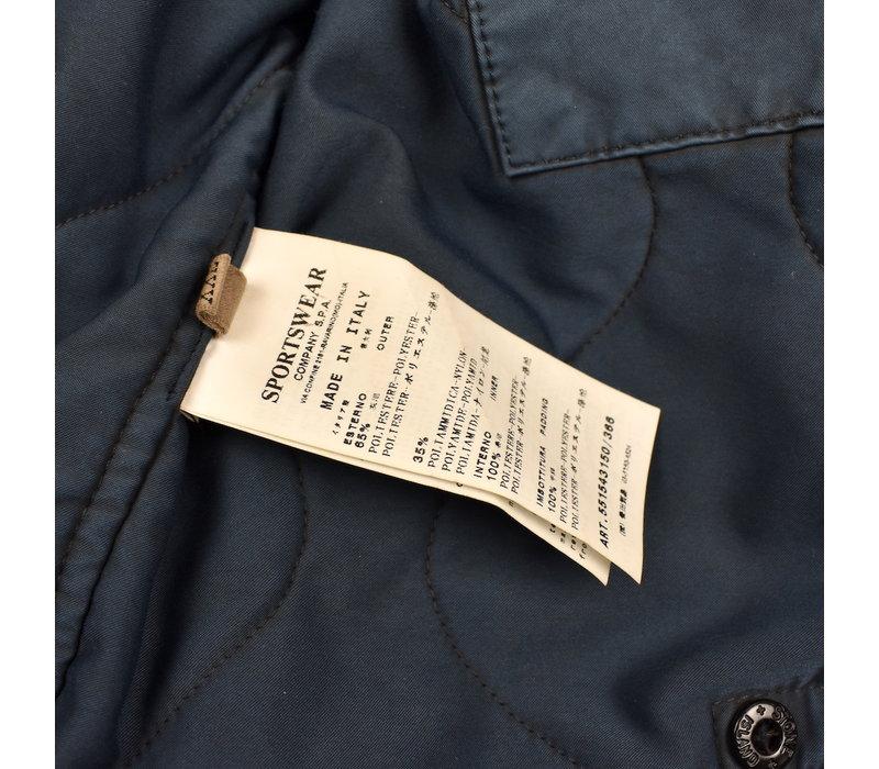 Stone Island blue david-oxyd jacket XXL