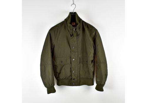 C.P. Company C.P. Company green dynafil bomber jacket 48