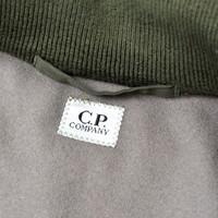 C.P. Company green dynafil bomber jacket 48