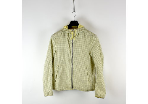 C.P. Company C.P. Company yellow graphic dotted goggle jacket 50