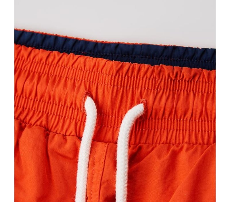 Weekend Offender Amalfi swim shorts Tangy Orange