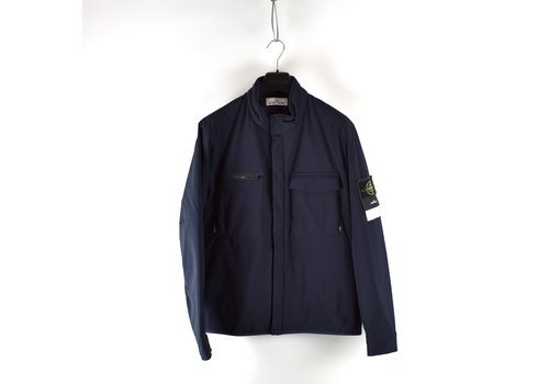 Stone Island Stone Island navy soft shell-r with primaloft jacket XL