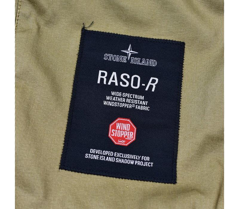 Stone Island shadow project sand raso-r windstopper field jacket set L