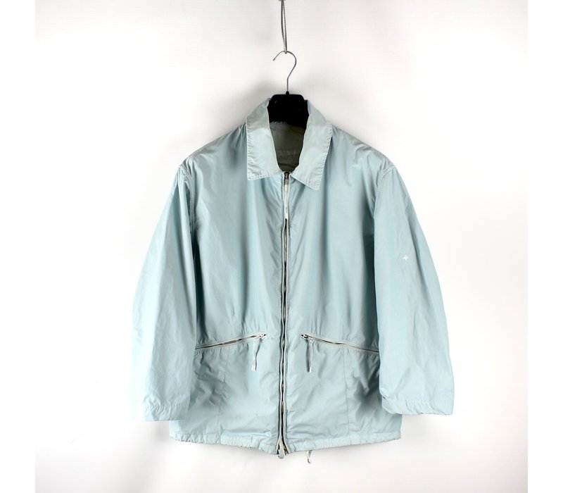 Stone Island denims light blue lightweight nylon jacket XXL