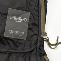 Stone Island denims packable black lightweight nylon field jacket XXL