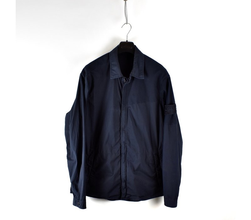 Stone Island navy ghost piece overshirt jacket XXL