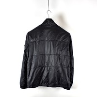 Stone Island black micro rip stop 7 den quilted jacket XL