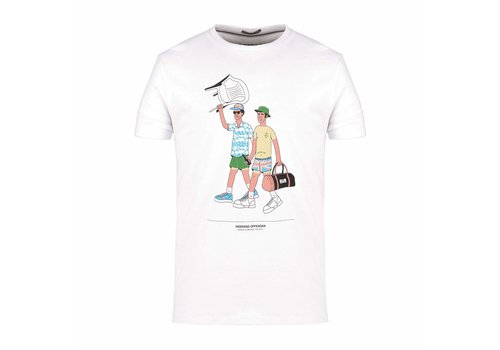 Weekend Offender Weekend Offender Italia 90 Chairs t-shirt White