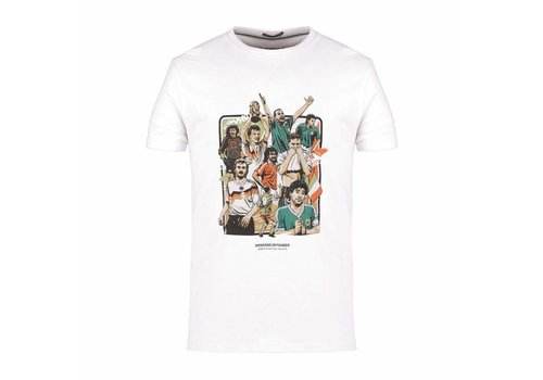 Weekend Offender Weekend Offender Italia 90 Players t-shirt White