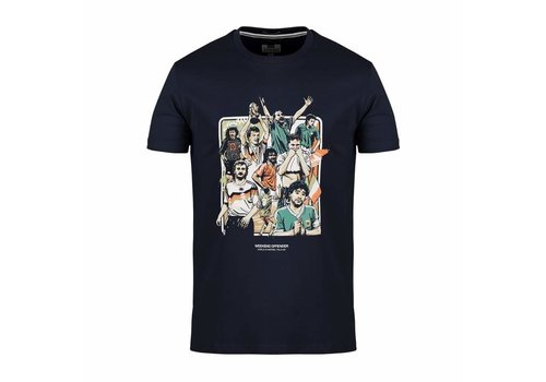 Weekend Offender Weekend Offender Italia 90 Players t-shirt Navy