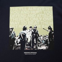 Weekend Offender Italia 90 Fans t-shirt Navy