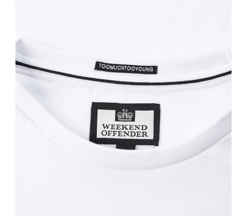 Weekend Offender Broke t-shirt White