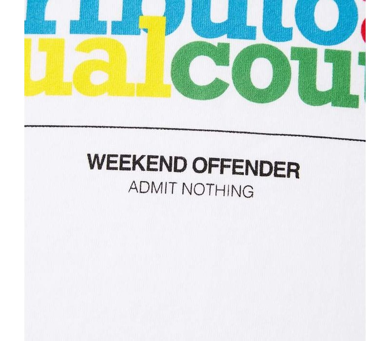 Weekend Offender Tribute t-shirt White