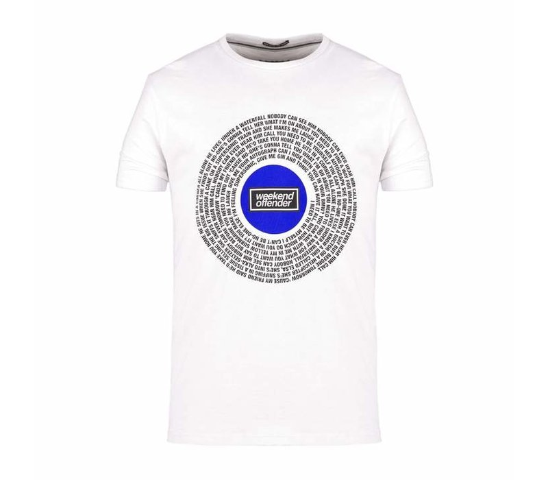Weekend Offender Supersonic t-shirt White