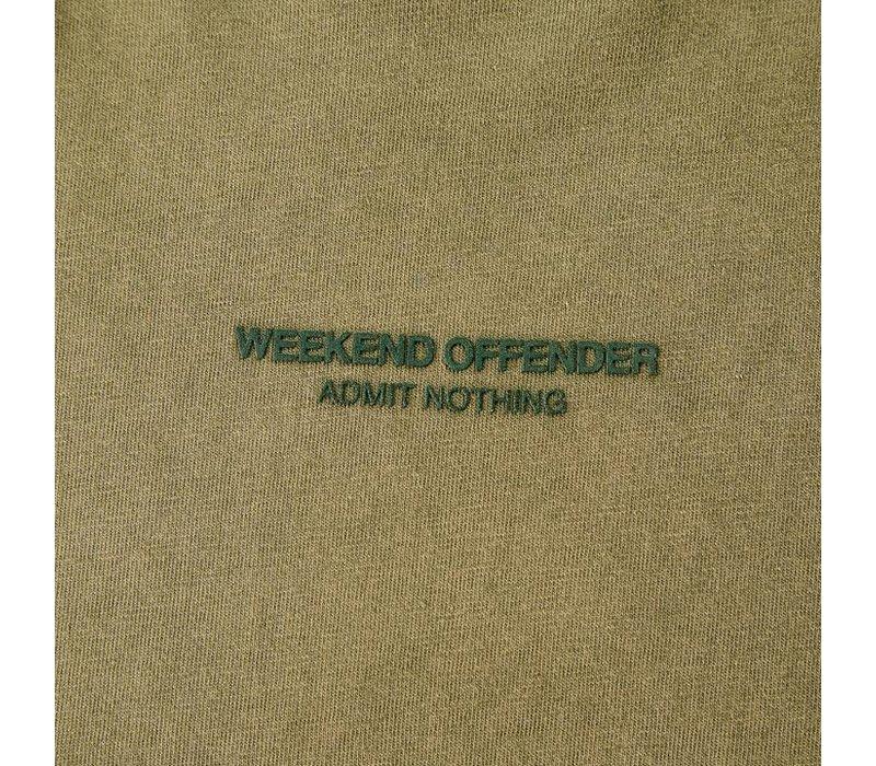 Weekend Offender W.O.A.N. t-shirt Dark Khaki