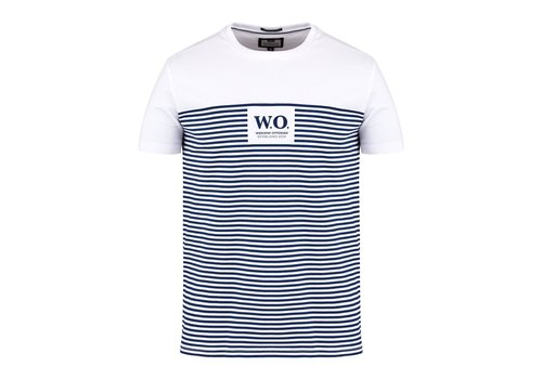 Weekend Offender Weekend Offender Stripes t-shirt Navy/White