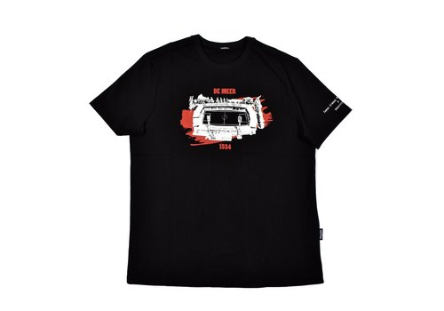 Three Stroke Productions Three Stroke Productions Old Town Stadium Project De Meer Amsterdam t-shirt Black