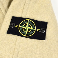 Stone Island beige panno speciale jacket L