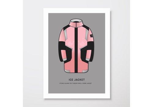 Creative Juice MCR Creative Juice MCR A3 print Stone Island Ice-T Resin Shell pink